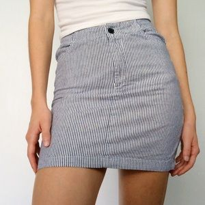 Brandy Melville striped pencil skirt.